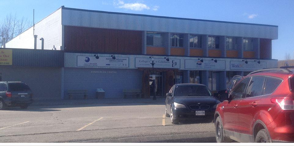 Evergreen Centre, Mackenzie BC
